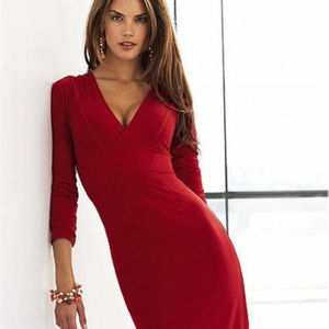 Victoria's Secret Double V-Neck Dress